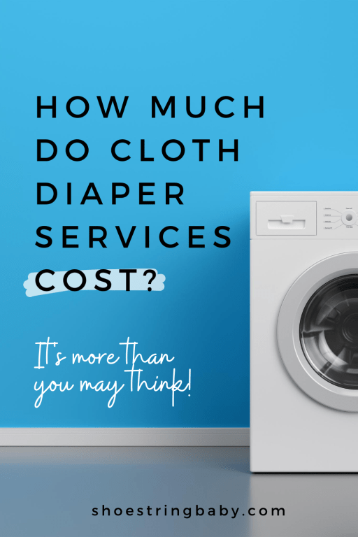 Cost of cloth diapers services