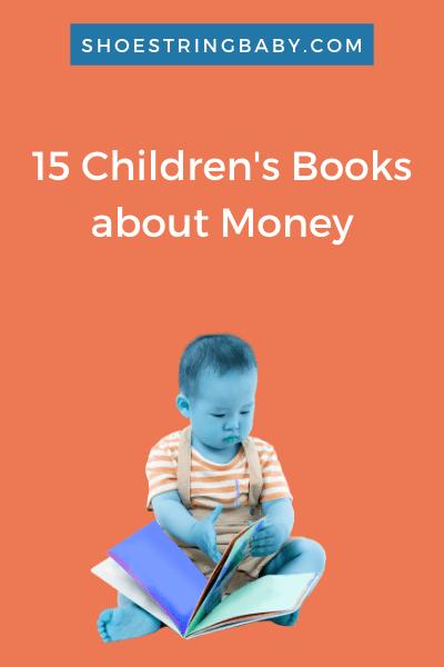 15 children's books about money