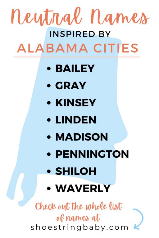 gender neutral baby name ideas from alabama