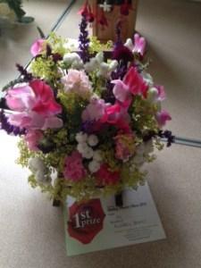 village show flowers