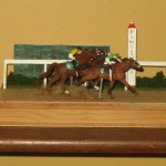 Racehorse Diorama Shoestring Stable