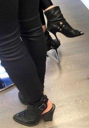 Heels chunk and spike