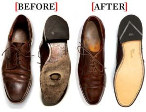 leather sole refurbishment