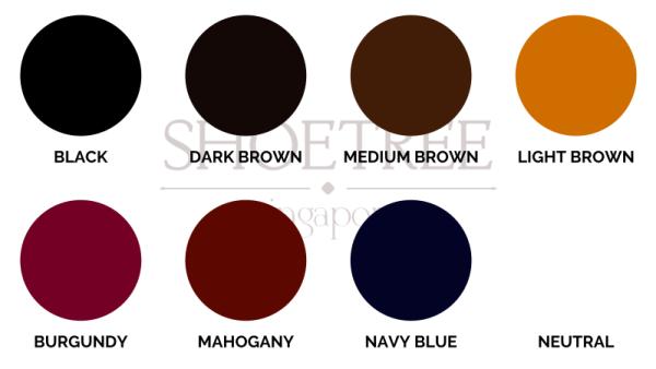 Saphir Colour Chart 800px