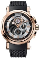 Breguet Marine Tourbillon Chronograph Rose Gold Watch 10