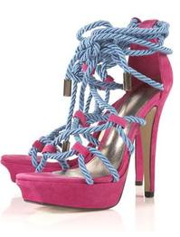 No thanks! Topshop 'lucious' rope shoes