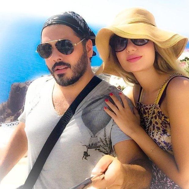 زوجة رامي عيّاش تنشر صورها في البحر وتنافس ميريام فارس