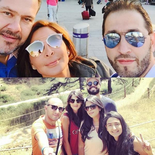 """محبو الفنانة إليسا يدعمونها بحملة """" selfie like elissa""""!"""