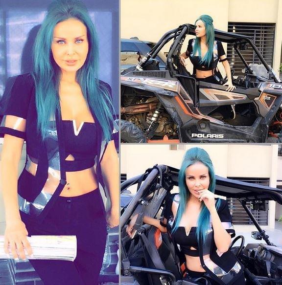 رولا  وبلبلة على إنستغرام بسبب لون شعرها الجديد