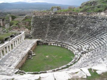 The amphi theater in Thyatira
