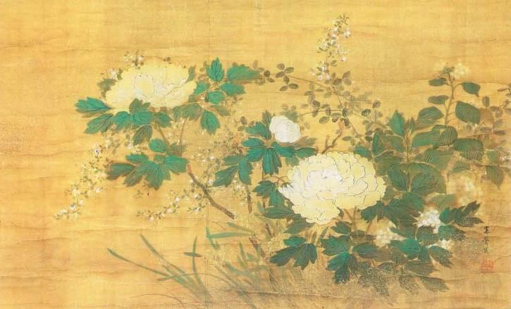 Shikisōkano-Zu by Mori Kansai