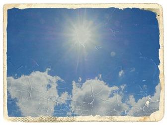 夏の日差し2