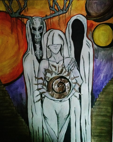 Three Dreamers by Sarah Walker