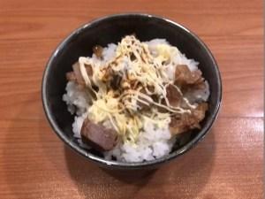 ミニ豚マヨ丼