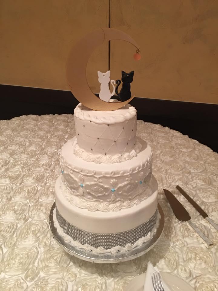 Annes Fabulous Sailor Moon Themed Wedding