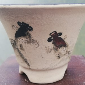 Lotus ceramic Bonsai Pot