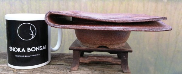 Unique Kusamono Bonsai Ceramic by JC Pottery