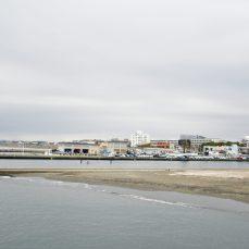 江の島弁天橋から見る相模湾