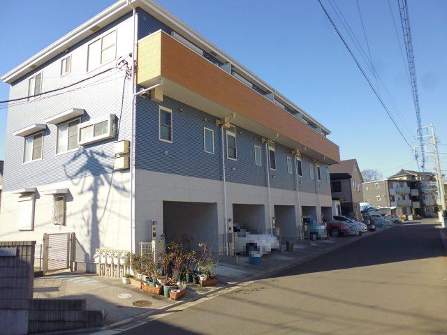 テラスフジケン|藤沢市渡内の賃貸テラスハウス