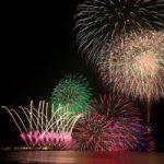 湘南秋の風物詩〜江の島花火大会にて