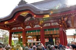 鶴岡八幡宮の節分祭「福豆拾い」はスゴかった