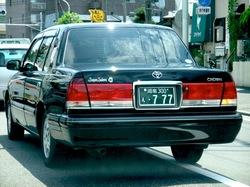 湘南ナンバー「777」の個人タクシーに乗れたらラッキー!?