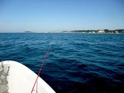 材木座の手漕ぎボートで秋のカワハギ釣り
