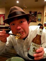 藤沢タイ料理ゲンキョウワンのソフトシェルクラブ