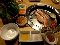 藤沢韓国料理Korean Kitchen TEJI-TEJI(テジテジ)のサムギョプサル
