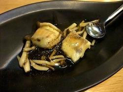 藤沢駅南口の海鮮&カニ居酒屋すすきの白身魚のあんかけ