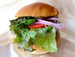 藤沢市鵠沼海岸のレストラン&カフェカブトスカフェの鵠沼バーガー