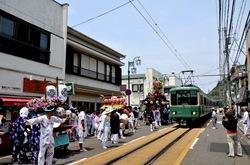 江の島天王祭「神輿海上渡御」