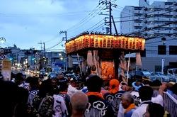どっこいどっこい白旗神社の湘南神輿