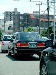 湘南ナンバー「777」のラッキー個人タクシー