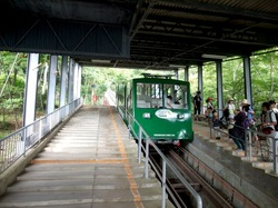 茨城県つくば市筑波山のロープウェー