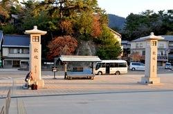 湘南から宮島厳島神社・出雲大社・鳥取砂丘ドライブ宮島の入口