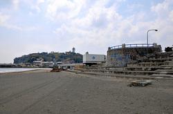 マンガコミック『ピンポン』の背景シーン&ロケ地の片瀬西浜