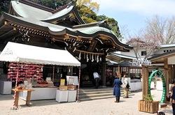 マンガコミック『ピンポン』の背景シーン&ロケ地の江島神社辺津宮