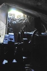 新潟県佐渡島の佐渡金山の産業遺産コース大立堅坑