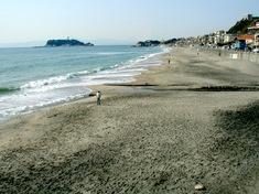 江の島花火大会203の穴場観覧スポット片瀬東浜方面の七里ガ浜