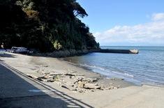 江の島花火大会203の穴場観覧スポット江の島島内のプライベートビーチ
