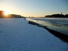 湘南江ノ島の初日の出オススメスポット片瀬海岸西浜