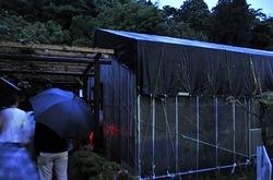 大清水浄化センター「ふじさわ下水道フェア2014」のホタル