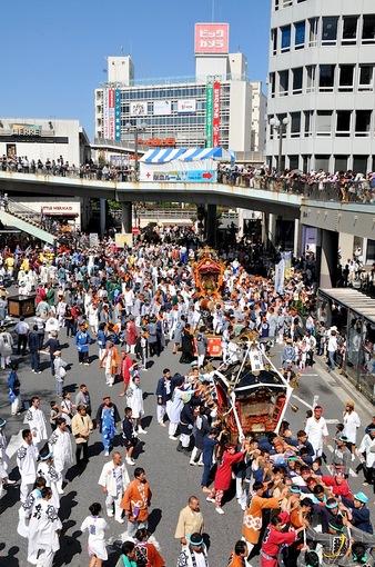 第41回藤沢市民まつり2014@藤沢駅前:湘南神輿渡御