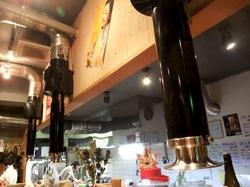 藤沢善行のホルモン焼き元気屋の吸煙機