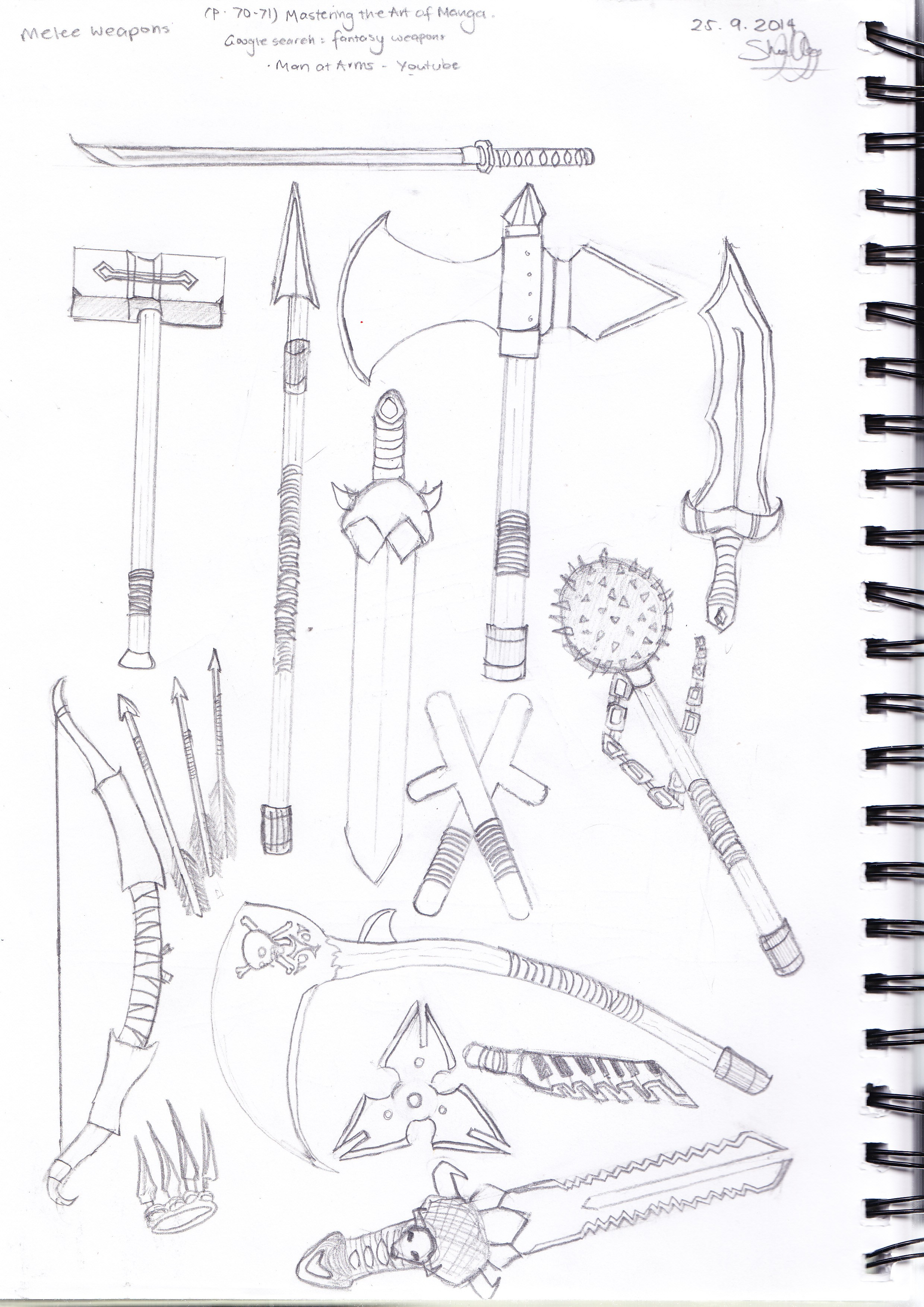 Drawing Techniques Book References And Inspirations