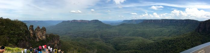 Panorama from Echo Point