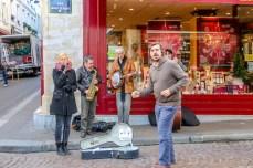 Buskers - Rue Mouffetard