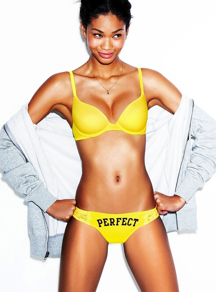 VS Lingerie Models Blog VS Pink 2011 Chanel Iman
