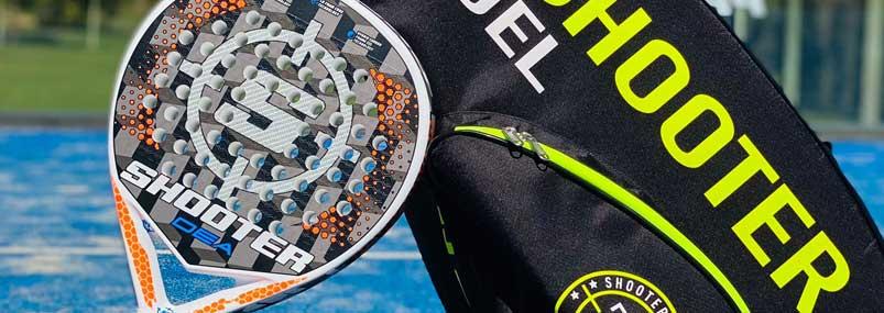 Lee más sobre el artículo Nueva pala de pádel SHOOTER PADEL con fibra aluminizada